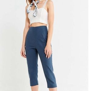 Urban Outfitters cropped high waisted linen pants